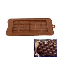 Форма силиконовая для шоколада Плитка