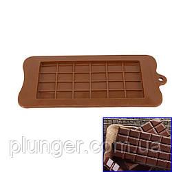Форма силіконова для шоколаду Плитка