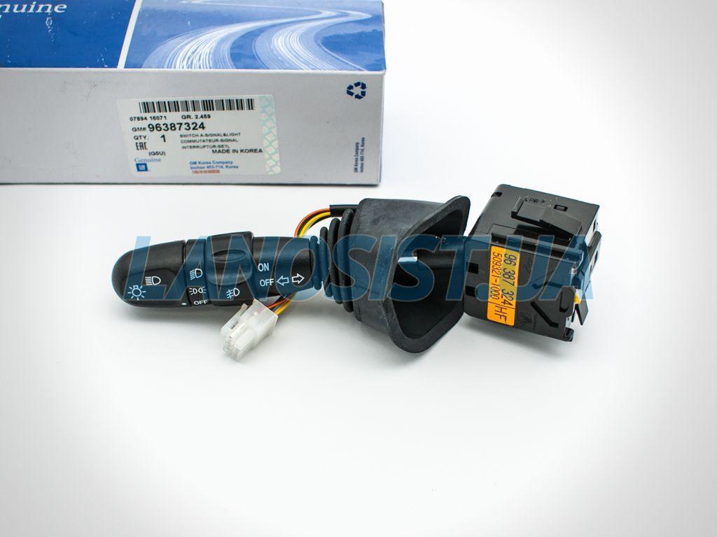 Переключатель света с противотуманками Лачетти GM 96387324.