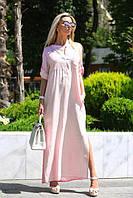 Женское стильное платье свободного края (норма) - разные расцветки