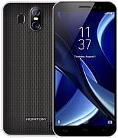 "Смартфон Homtom S16 Black 2/16Gb , 8+5/5Мп, 4 ядра, 2sim, экран 5.5"" IPS, 3000mAh, GPS, 3G, Android 7.0, фото 1"