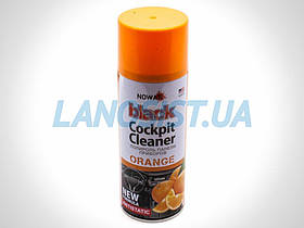 Полироль панели приборов BLACK (апельсин) NOWAX 450мл NX00453.