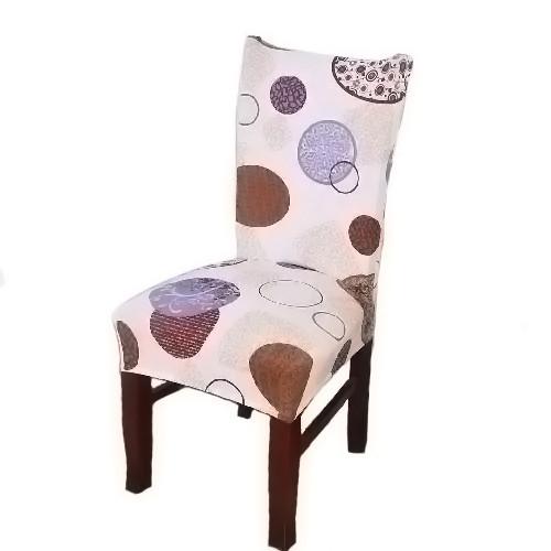 Чехол на стул натяжной Stenson R26295 45х40~65х50 см