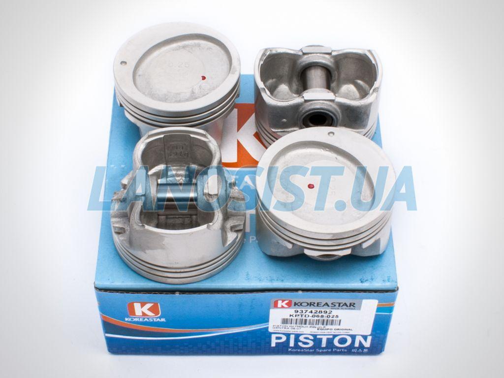 Поршни Авео 1.5 +0.25 Koreastar KPTD068025.