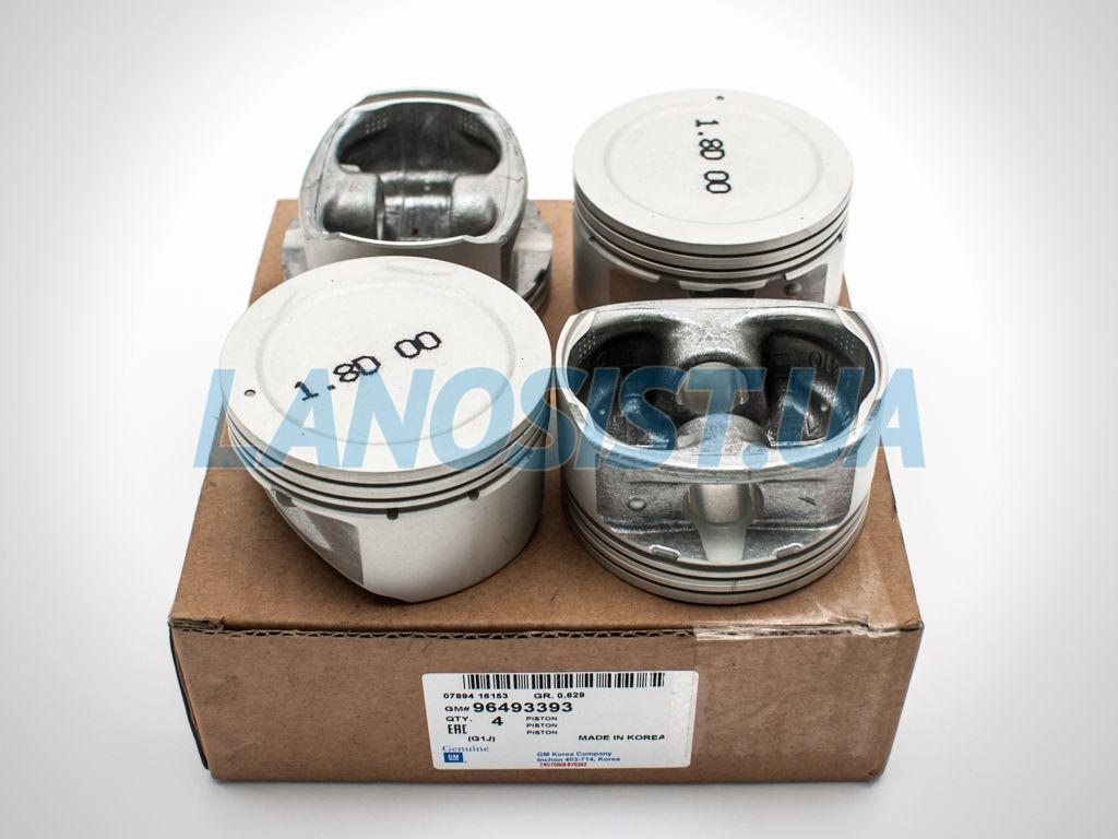Поршни Лачетти 1.8 LDA STD GM 96493393.
