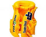 Детские надувные жилеты для плавания.Нарукавники для плавания детские