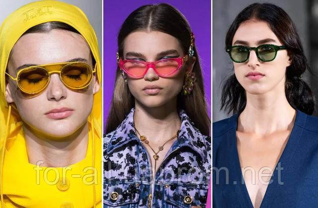 Фото очков Max Mara, Versace and Tibi