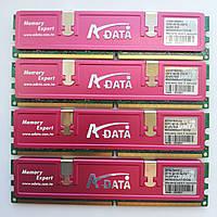 Комплект оперативной памяти Adata DDR2 8Gb (4*2Gb) 667MHz PC2 5300U CL5 (AD2667002GOU) Б/У, фото 1