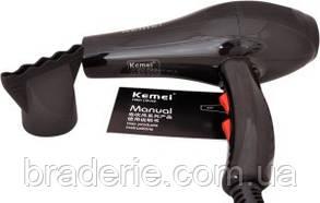Фен для волос Kemei 8892 c ионизацией, фото 2