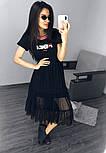 Легке плаття з фатином Fendi, фото 3
