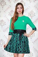 Платье женское нарядное  цвет ментол р.46 Yam149_4
