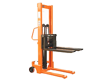 Штабелер ручной гидравлический E1516 грузоподъемность 1,5 тн, высота подъема 1,6 м