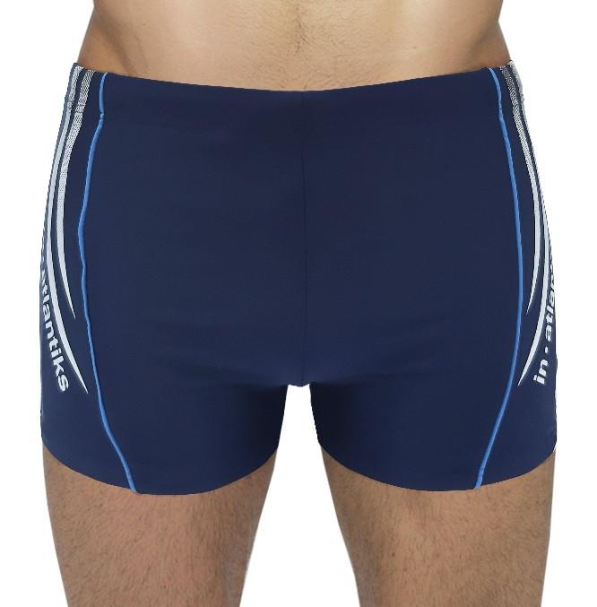 Мужские пляжные шорты In.Atlantiks арт.0522 голубой