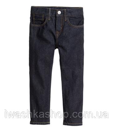 Стильные черные джинсы slim слим для мальчика 1, 5 - 2 года, р. 92, H&M