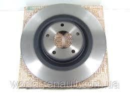 Тормозной диск передний на Рено Колеос, Ниссан Кашкаи, X-Траил / Renault (Original) 402069828R