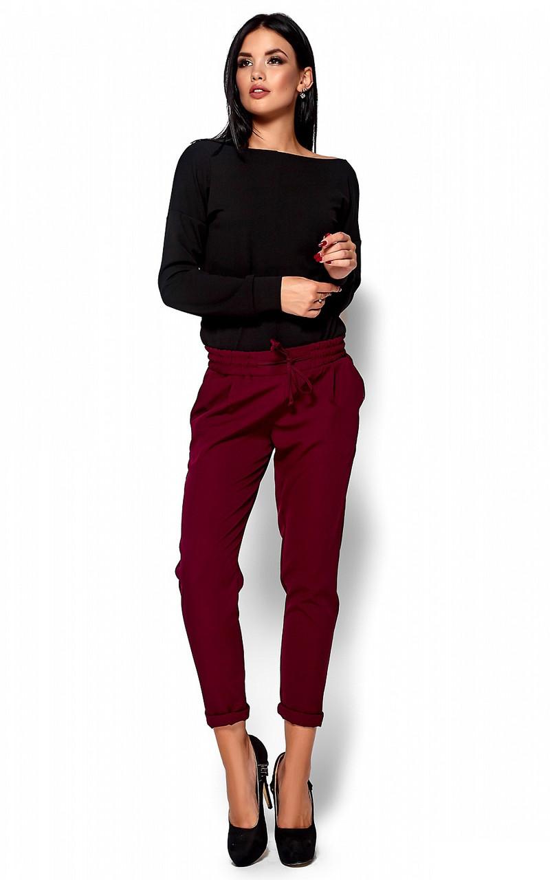 (S, M, L) Стильні марсалові брюки Missa