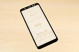 Защитное стекло 5D для Samsung Galaxy J8 2018 J810 (Black)