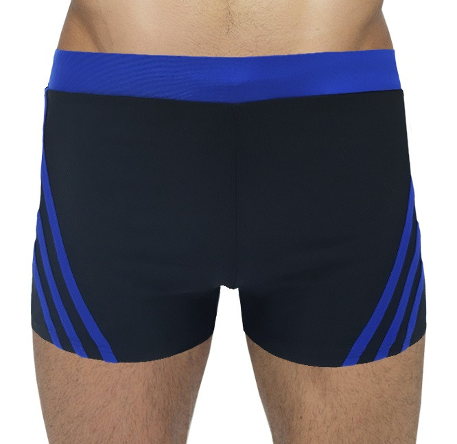 Мужские пляжные шорты In.Atlantiks арт.0523 синий