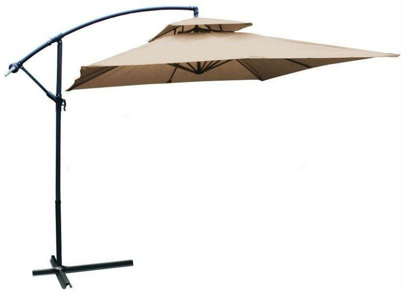 Садовый зонт Desco ,250х250 см. бежевый
