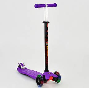 """Детский самокат MAXI  """"Best Scooter"""".Самокат с подсветкой, фото 2"""