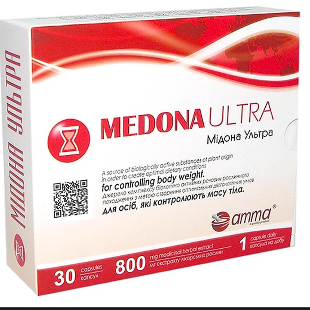 Мидона ультра (Amma), 30 капсул контроль веса тела