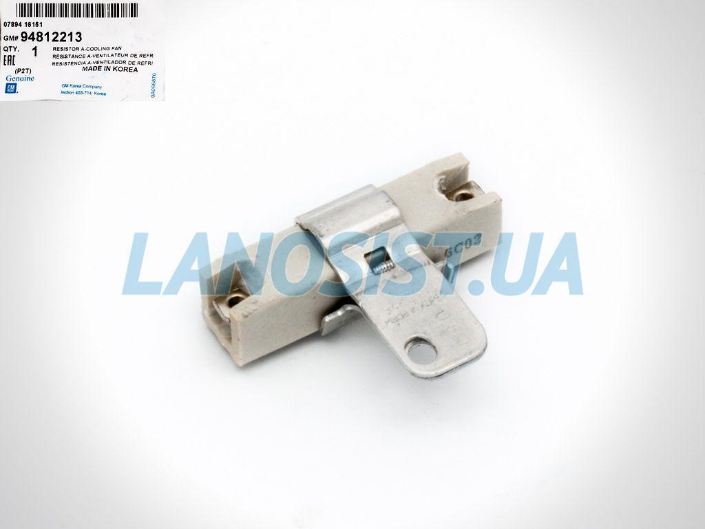 Резистор вентилятора Авео GM оригинал 94812213.