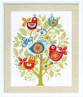 Набор для вышивки крестиком Весна пришла 22x27.5 см Crystal Art 1055313