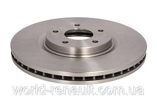 Тормозной диск передний на Рено Колеос, Ниссан Кашкаи, X-Траил / BOSCH 0986479R89