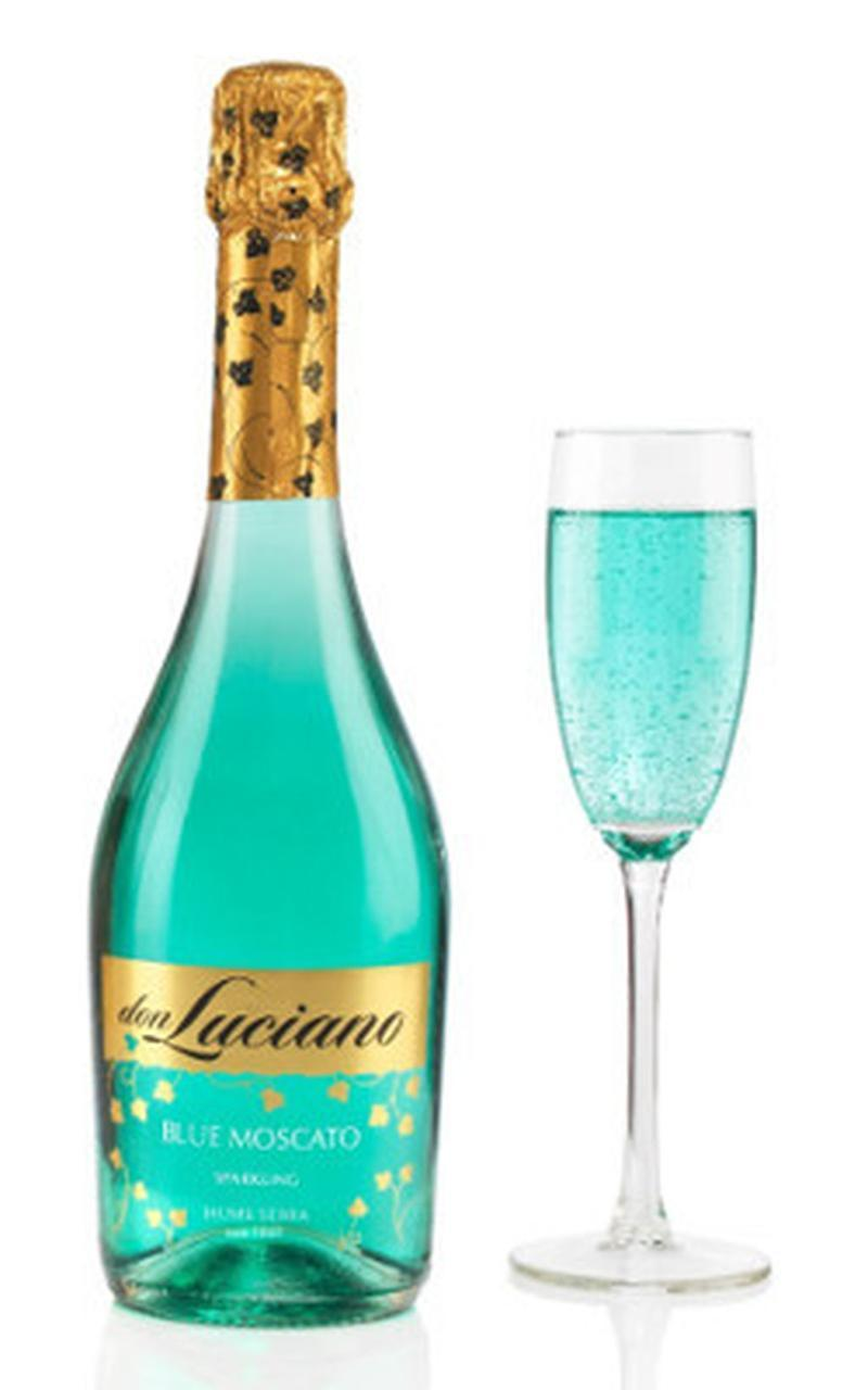 Вино игристое десертное голубое Don Luciano «Blue Moscato» 0.75л