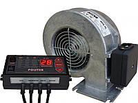 """Автоматика для котла Polster C-11 + Вентилятор для котла WPA-X2 """"М+М"""""""