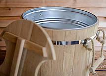 Запарник для веников 32 л с металлической вставкой (эконом), фото 3
