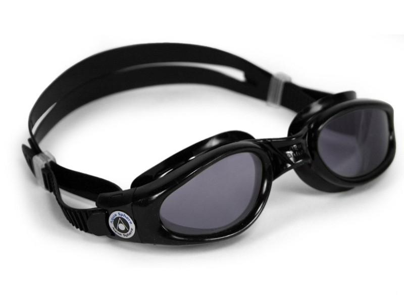 Очки для плавания Aqua Sphere KAIMAN (Чёрный; линзы тёмные)