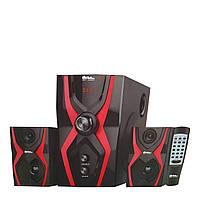 Музыкальные колонки 2.1. Домашний центр SKY 25Вт. USB/SD/AUX/Bluetooth/FM-радио.