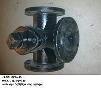 Кран 11Ч18БК фланцевый 3-ходовой РУ 10