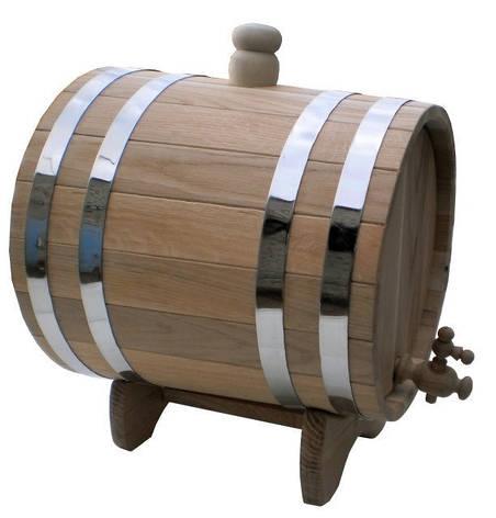Жбан дубовий 60л для коньяку, вина, квасу 7trav, фото 2