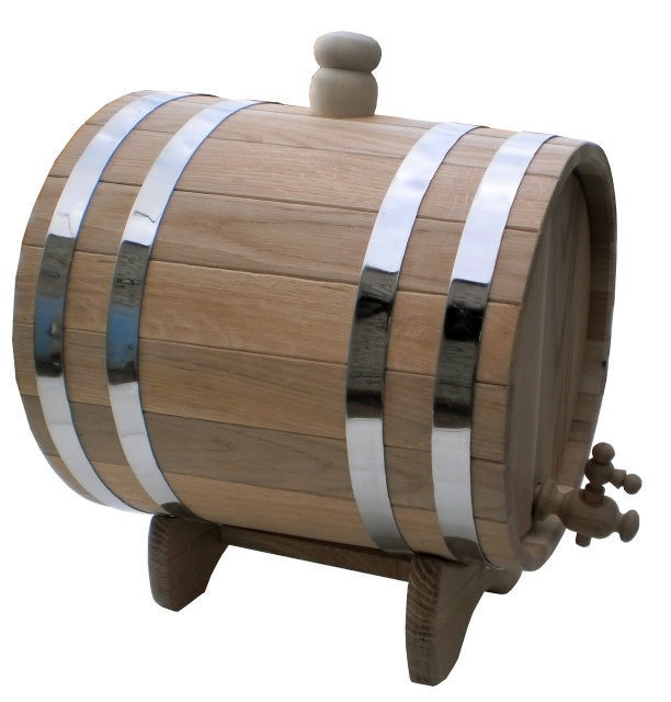 Жбан дубовий 60л для коньяку, вина, квасу 7trav
