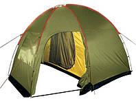 Палатка туристическая четырехместная Tramp Lite Anchor 4, фото 1