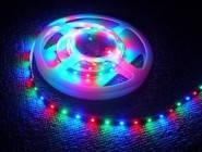 Светодиодная лента без силикона  RGB 3528 3 цвета 5м 300 диодов. , фото 1