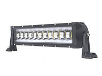 Дополнительные светодиодные противотуманные LED фары балки (1шт) K 60 W с неоновым ободком 370x90x100 LED-фары