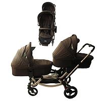 Детская универсальная коляска для двойни 2 в 1 ABC Design Zoom Cuba