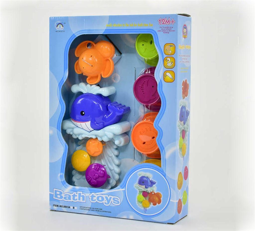 Набор для купания Bath Toys 883A Весёлый Ручеёк + Матрёшка