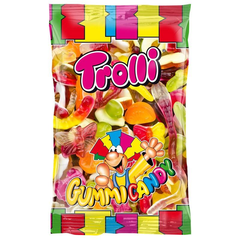 Желейные конфеты Trolli Ассорти Германия 1000 кг