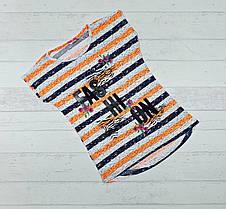"""Детская футболка  для девочек  """" Fashion"""" 6,7,8,9,10 лет"""