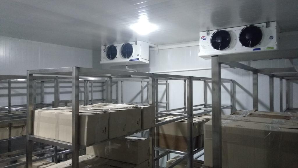 Низкотемпературная камера для хранения мороженного!
