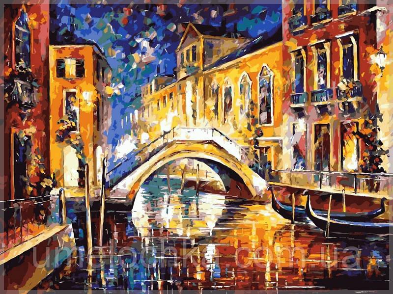 Раскраска по номерам Babylon  Ночь в Венеции