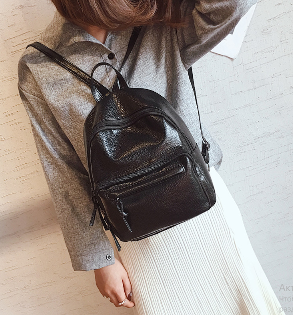 Рюкзак женский классический PU кожзам