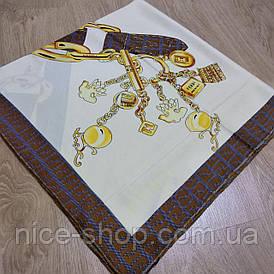 Платок Fendi светло-бежевый