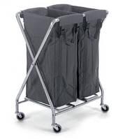 Numatic NX-1002 - Тележка для белья 2х100 литров, фото 1