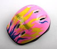 Шлем Pink. Огонь розовый, фото 1