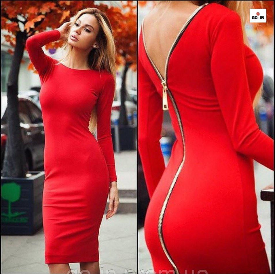 581bdce050636c9 Женское платье на молнии сзади Anett, цена 280 грн., купить в Ивано ...
